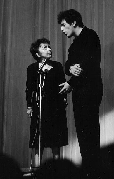 """Edith Piaf and Theo Sarapo Singing: """"A quoi ca c'est l'amour"""""""