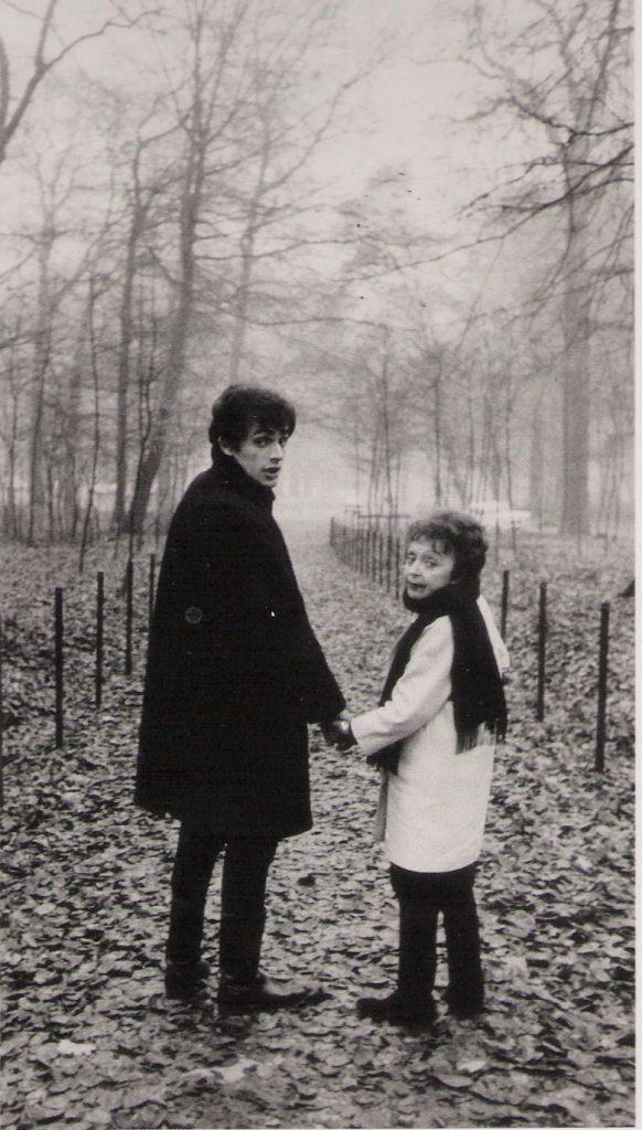 Theo Sarapo and Edith Piaf