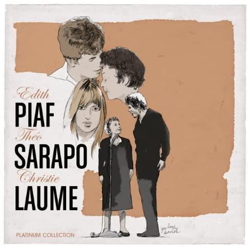 Edith Piaf, Theo Sarapo, Christie Laume, Platinum Collection Record